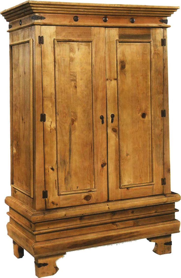 Charming Mexican Furniture Armoire