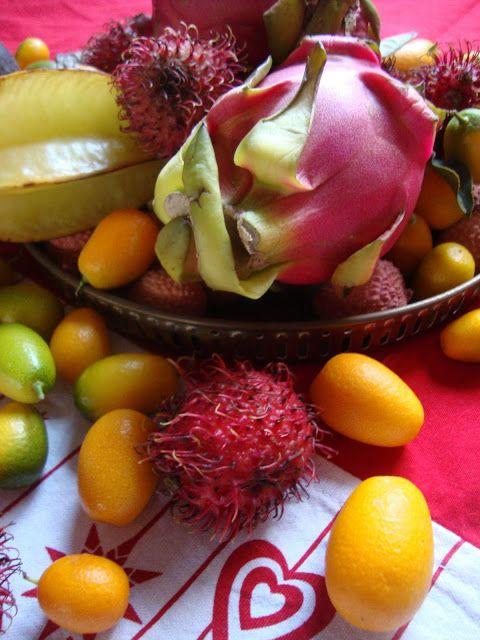 Frutti tropicali sulla tavola delle feste Foto-diario di una giardiniera curiosa