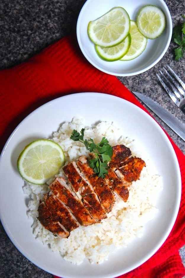 If you can mix a few spices together, you can make this yummy chicken.