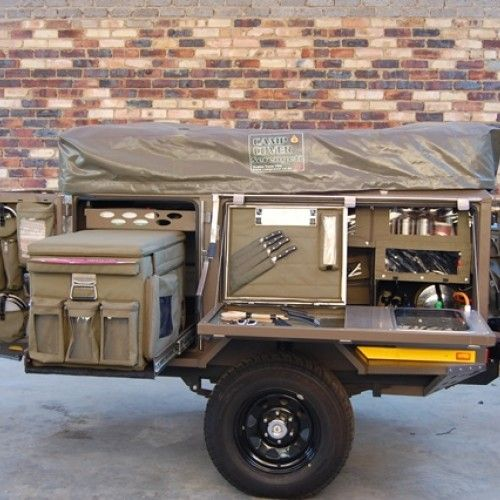 Ultimate Overland, 4x4 Trailer service, customizing and rental - Maxi canvas