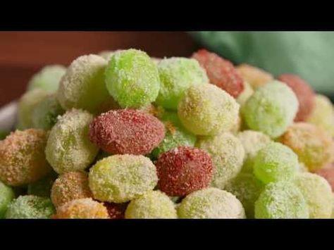 Sour Patch Grapes Have Become A Viral Sensation - How to Make Sour Patch Grapes Video - Delish.com