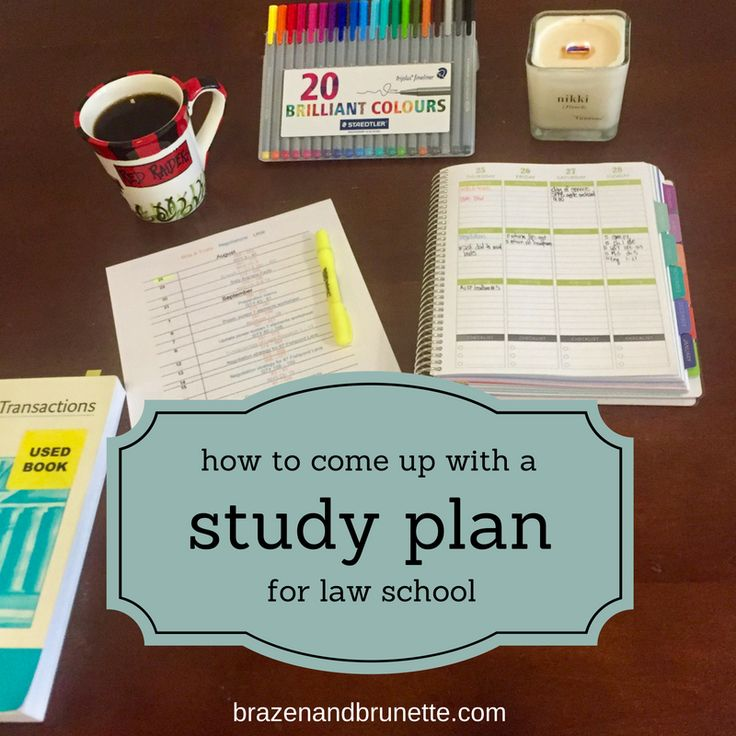 236 best law school images on pinterest a month beautiful and creating a study plan school lifeschool todaylaw pronofoot35fo Image collections
