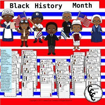 This Black History Month Resource is a great resource that will help your students learn about amazing African American citizens and their contributions to the United States and the world. This product has activities that allows the students opportunities to write, research, and answer