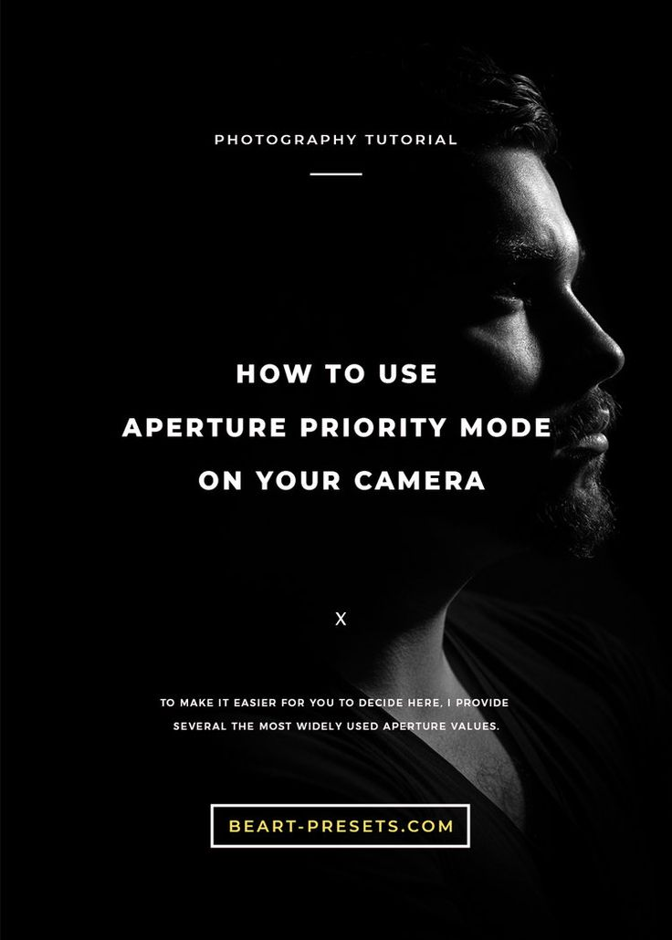 how to use aperture priority mode nikon