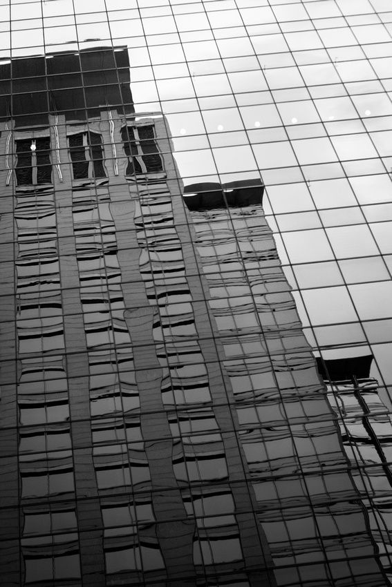 Reflections on George Street, Sydney