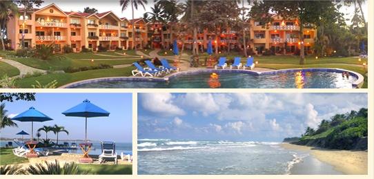 Velero Beach Resort bij Cabarete, Dominican Republic, near Puerto Plata.
