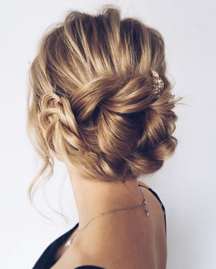 Wedding updos with braids Modern take on braids | itakeyou.co.uk pull through braids with fishtail (final braid section) pinned underneath?
