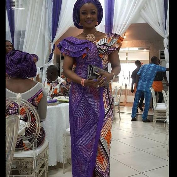 Temmie House Of Fashion: Stunning Ankara Asoebi Style For The Queens