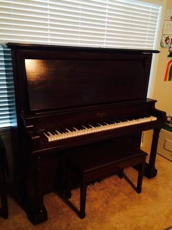 midget upright cable piano company