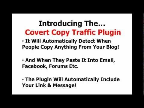 Covert Copy Traffic - How To Double Your Social Traffic In 7 Seconds Or Less #covert_copy_traffic
