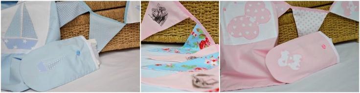 gorgeous alice in wonderland bunting by Saffron Crafts