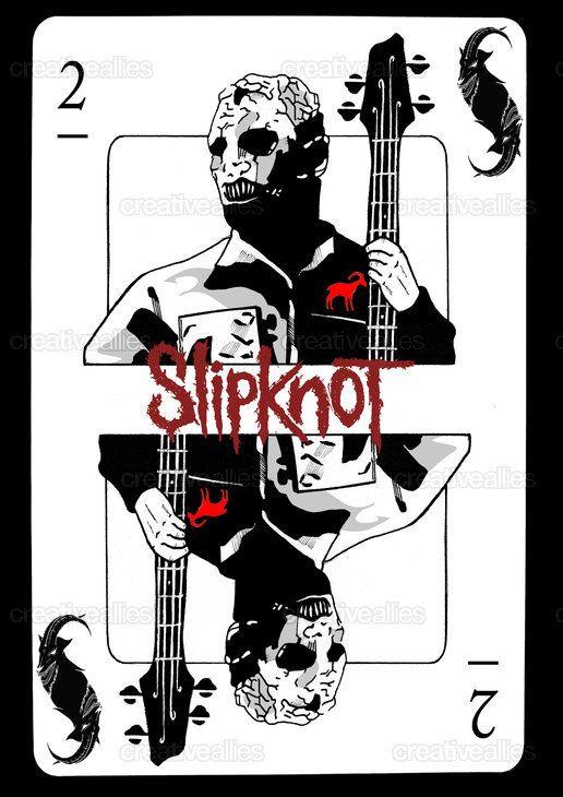 Slipknot Merchandise Graphic by Dimitri.Bishop on CreativeAllies.com