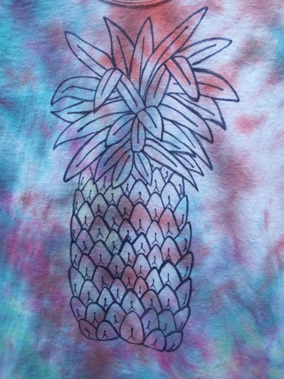 Made to Order Pineapple Shirt  from Anything on a Tie Dye at CreationsbyMarishttps://www.etsy.com/listing/244972130/made-to-order-pineapple-shirt-pineapple