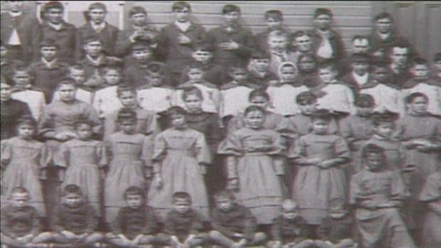 A quick clip of the news report that revealed the amount of deaths caused by the residential schools, very factual and to the point but does not leave a lot of room for answers. This is a great way to start a discussion on legacy of residential schools with students
