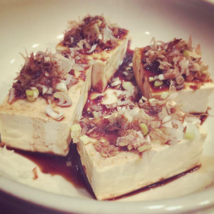 Tofu con Jengibre (Hiyayakko) - Receta de tofu frío - Mejor Real que Perfecto