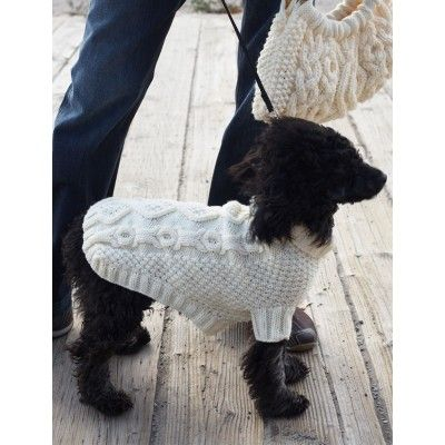 Dog Sweater Knitting Pattern Circular Needle : 17 Best images about Free Knit Pet Patterns on Pinterest ...
