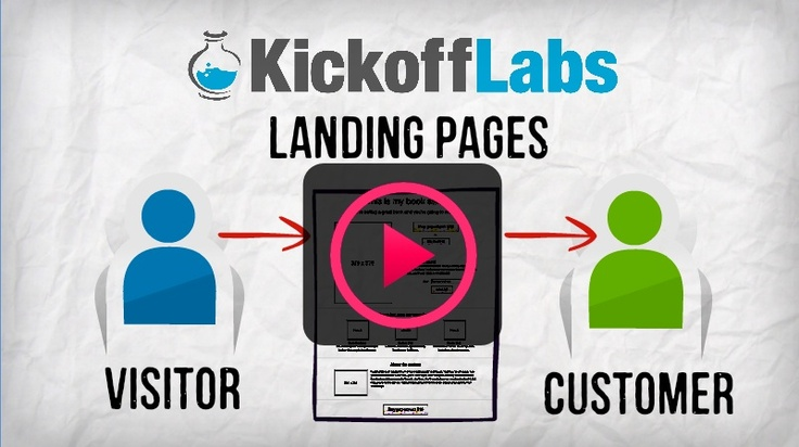 This really is one of my favorites! You need landing pages that convert. KickoffLabs makes it SUPER EASY and they work! I can attest to it. Give it a try here...there's a free version and a paid version depending on your business needs.   http://www.kickofflabs.com/?a=user8890