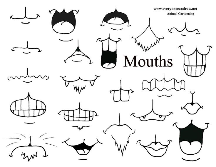 good create your own drawing #3: animal cartoons mix and match mouths