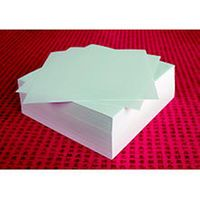 Sax Square Paperwhite Practice Origami Paper - White - Pack of 500