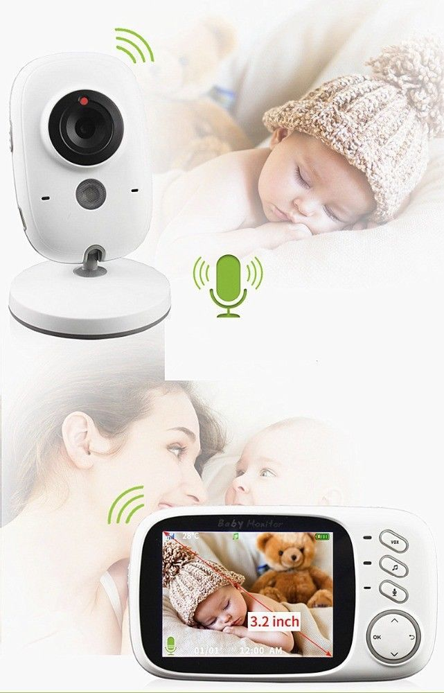 2017 Newest Good Quality Hot Selling Cheap Wireless 2 4inch Baby Monitor Mboss Wireless Baby Monitor Baby Monitor Home Camera
