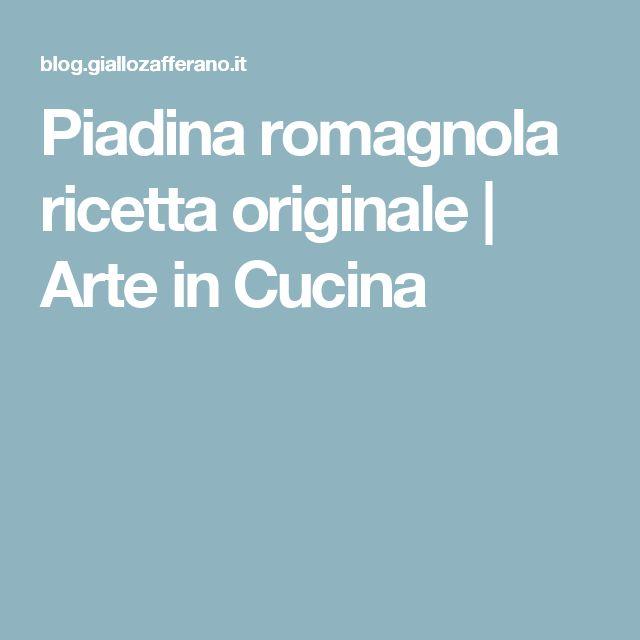 Piadina romagnola ricetta originale | Arte in Cucina