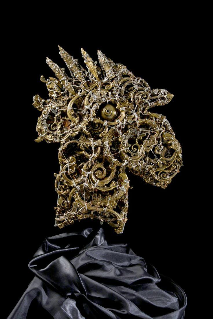 #Rooster - (2010) 56x48 - made with #copper #brass #bronze #silver #art #sculpture #metalart #metal #metalsculptures #animalart