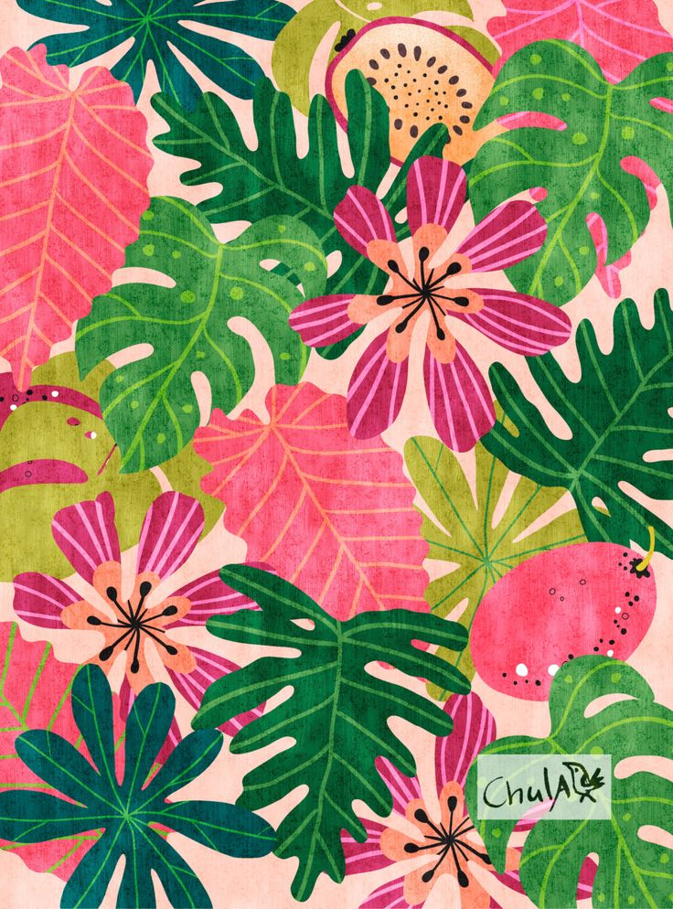 'Jungle' illustration printed on high quality Epson matte paper | Author: Chulart