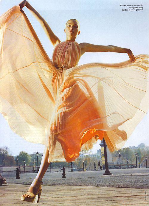 via Sensual Fairy Tale     #orange #dress #sorbet #fashion #editorialHermes, Fashion Style, Ads Campaigns, Maxis Dresses, Leap Of Faith, Gemma Ward, Fashion Photography, Fashion Editorial, Fairies Tales