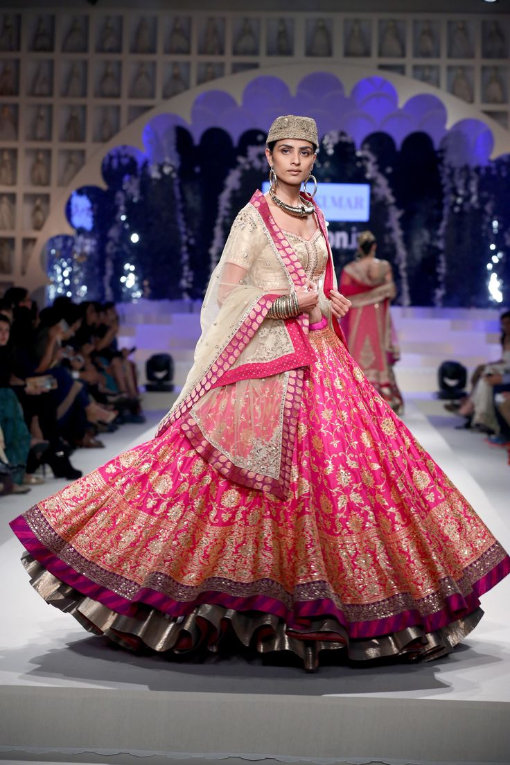 Our first lehenga from our Benaras project.