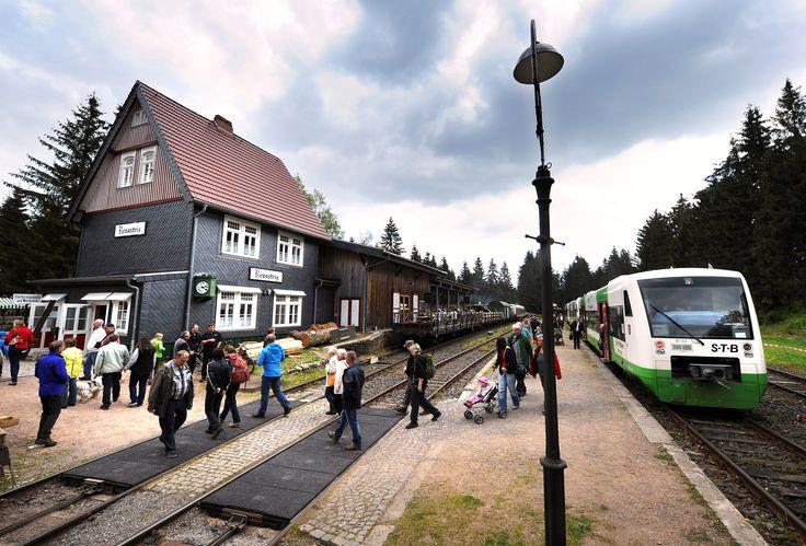 Der Bahnhof von Schmiedefeld am Rennsteig. Foto: Ralf Ehrlich