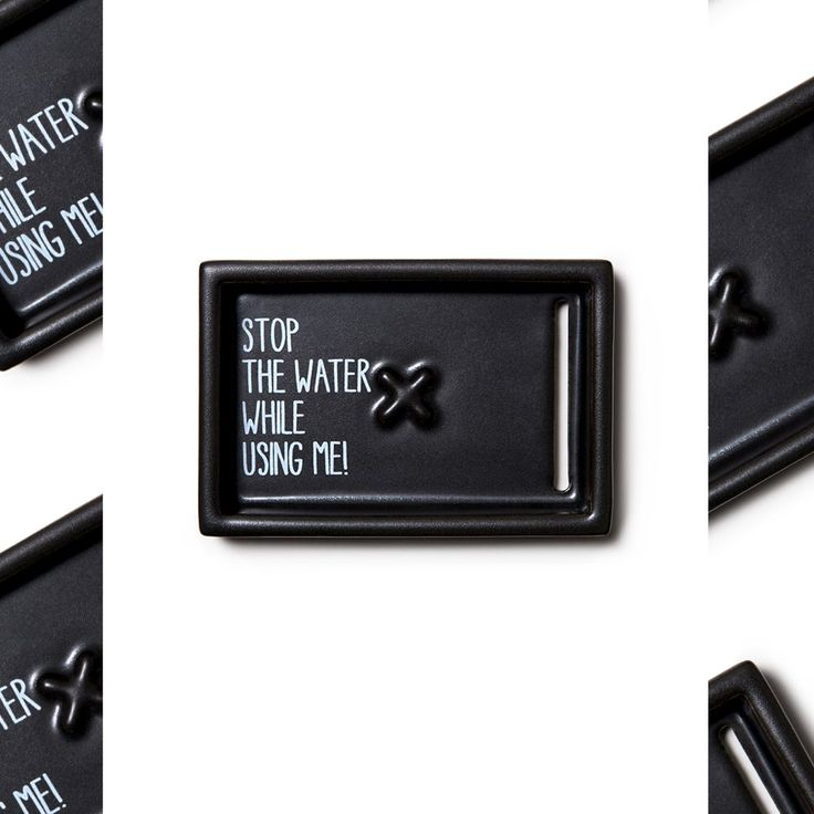 STOP THE WATER, SOAP DISH LIMITED EDITION (Alter Preis: 24,90 Euro)
