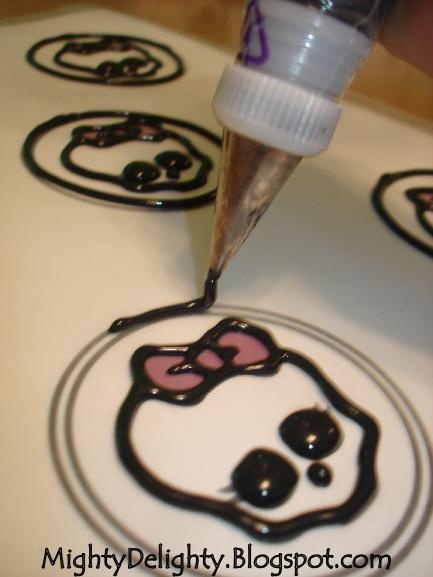 1/2013 - pretty much to a t. Worked out well. How to make Monster High Skullette Cupcakes