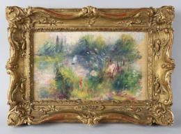 AFP: Encuentran una pintura de Renoir en un mercadillo