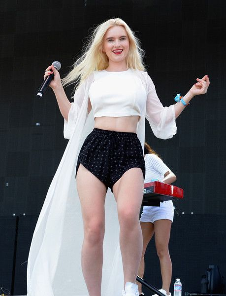 Musician Grace Chatto of Clean Bandit performs onstage during day 2 of the 2015 Coachella Valley Music And Arts Festival (Weekend 2) at The Empire Polo Club on April 18, 2015 in Indio, California.