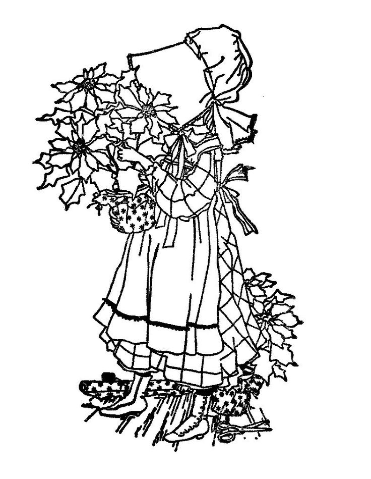 holly hobbie coloring pages - photo#6