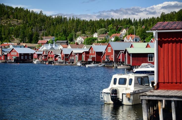 Fiskelägret Ulvön kallas ofta för Höga kustens pärla, Sweden