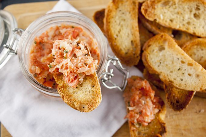 Deceptively simple to make, these spectacularly creamy yet light salmon rillettes can be made days in advance for the most impressive casual entertaining.
