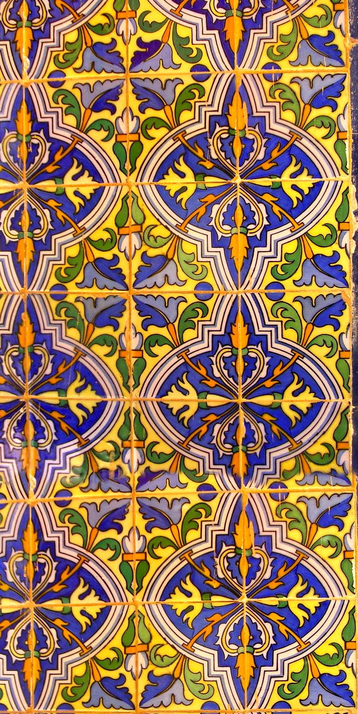 Tile floors in Merida, Mexico! Authentic Talavera available here: http://www.lafuente.com/Tile/Talavera-Tile/