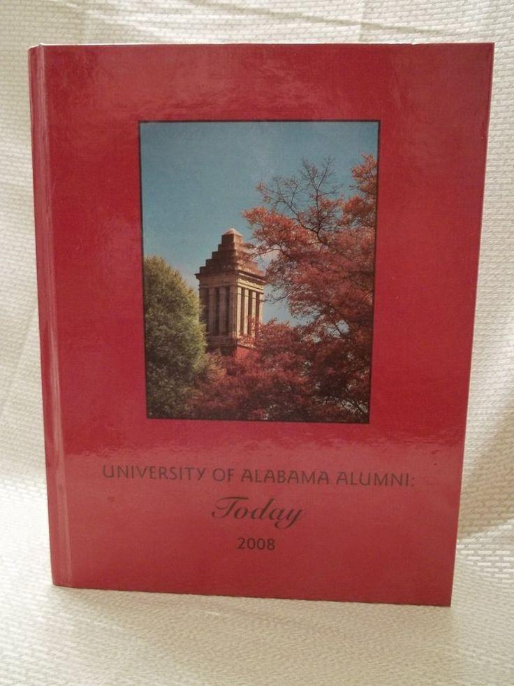 2008 University of Alabama Alumni Directory - Large Volume Roll Tide Crimson