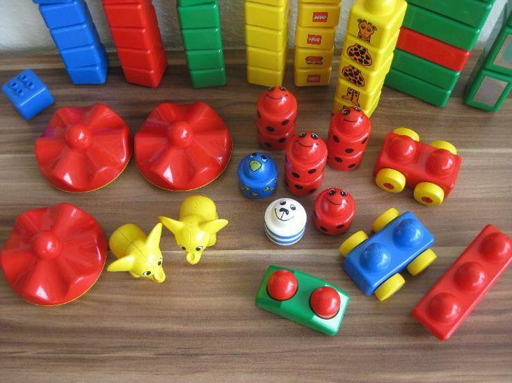 Lego Duplo PRIMO 95 Teile: Steine + Figuren + 3 Bauplatten
