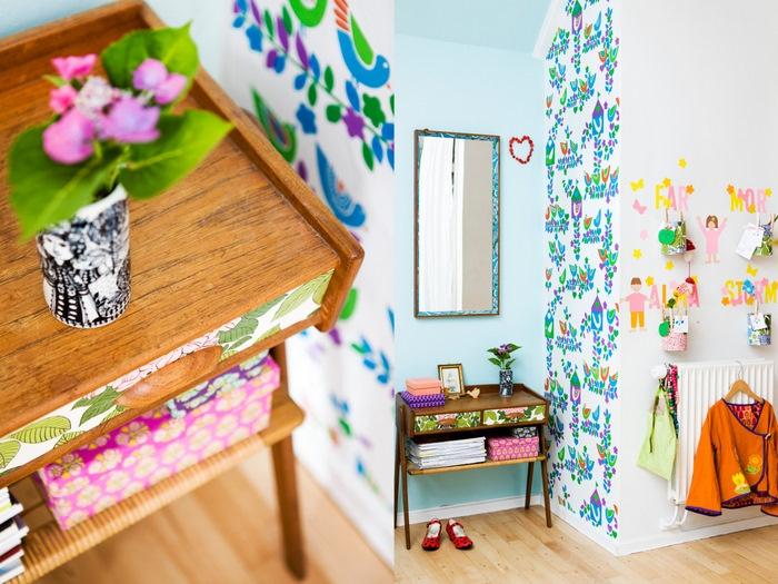 inspiring..: Wall Art, Kids Bedrooms, Beds Rooms, Mixed Patterns, Diy Bedrooms Decor, Bedrooms Bedrooms Decor, Rooms Ideas, Bedrooms Wall, Kids Rooms