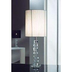 """Galway Crystal - Clio Lamp 24.5"""" and Free Shade. €99.00"""