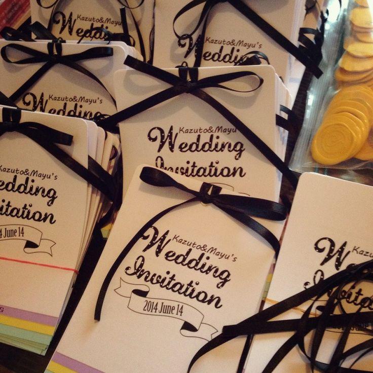 《完成》1.5次会招待状 の画像 MAYU'S Hawaii Wedding & The Big Day