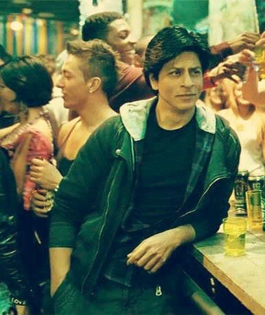 """Shahrukh Khan - Jab Tak Hai Jaan (2012).  Love the line, """"What? You don't like Desi boys?"""" I mean, how could you say no to that face?"""