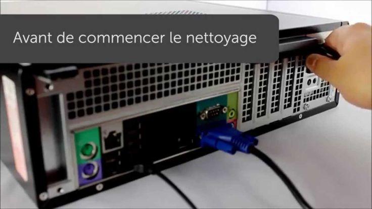 Dans cette vidéo vous verrez par l'exemple comment procéder au nettoyage ou entretenir le capot, les ports, les grilles de ventilation, le clavier, la souris, l'écran et enfin l'intérieur de votre ordinateur fixe DELL.