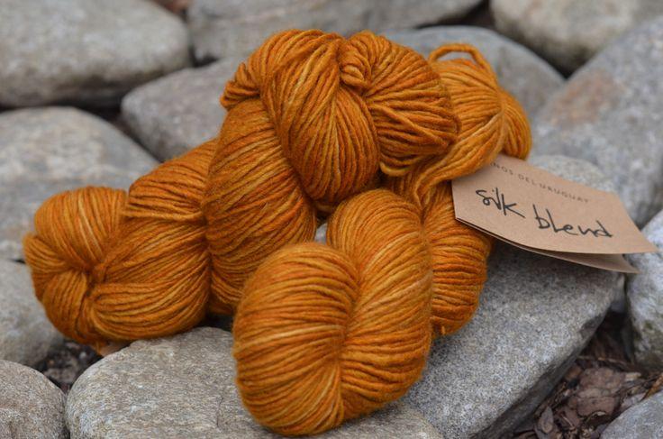 Příze Manos del Uruguay Silk blend Topaz