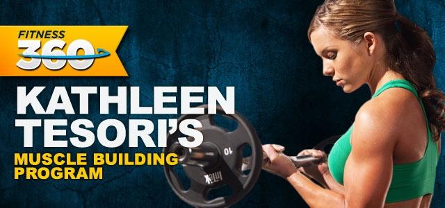 kathleen tesori's muscle building