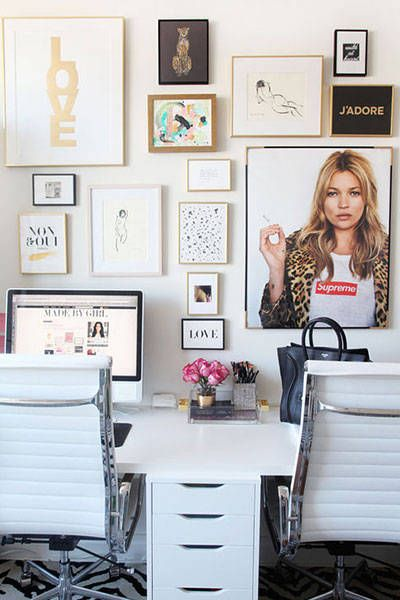 These chic home offices will inspire your perfect workplace: