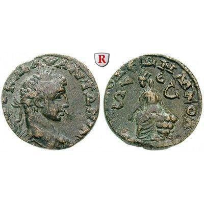 Römische Provinzialprägungen, Seleukis und Pieria, Antiocheia am Orontes, Elagabal, Bronze, ss: Seleukis und Pieria, Antiocheia am… #coins
