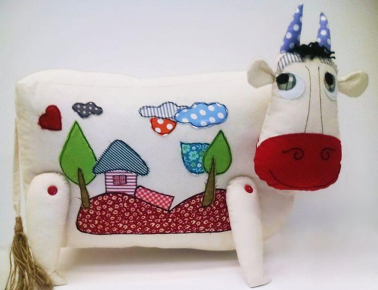 μαξιλάρι αγελάδα